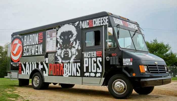 Baron Von Schwein food truck Lancaster PA