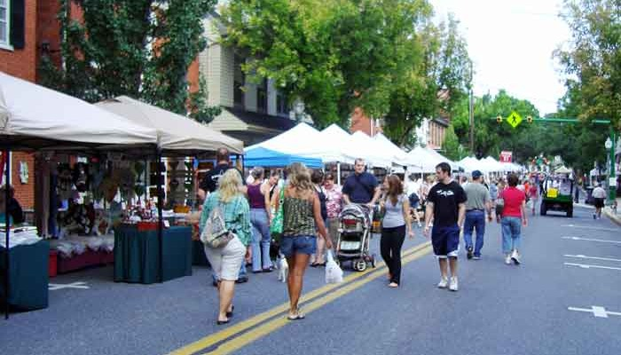 Lancaster PA summer craft shows