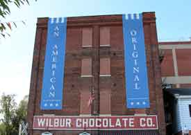 Wilbur Chocolate Factory, Lititz PA