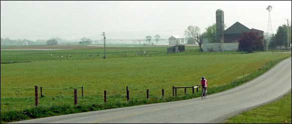 Bicycling in Lancaster County