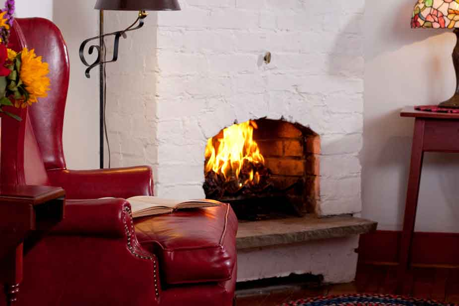 Fireplaces in every room!