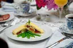Breakfast at Artist's Inn & Gallery Lancaster County PA